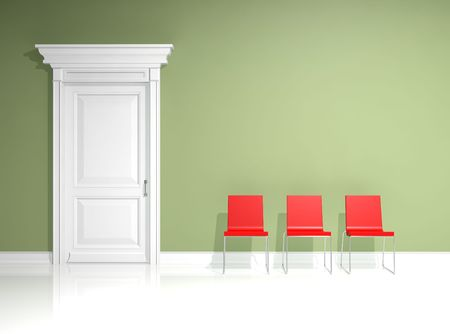 interior design with minimal elements Stock Photo - 4715906