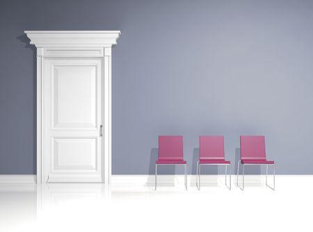 interior design with minimal elements Stock Photo - 4715923