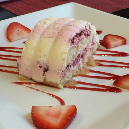 berries cake dessert Stock fotó