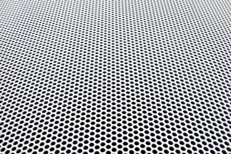 diminishing: radiator metal grid diminishing perspective view