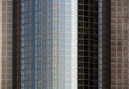 modern glass skyscraper abstract background photo