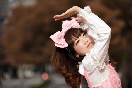 lolita: lolita japanese cosplay portrait