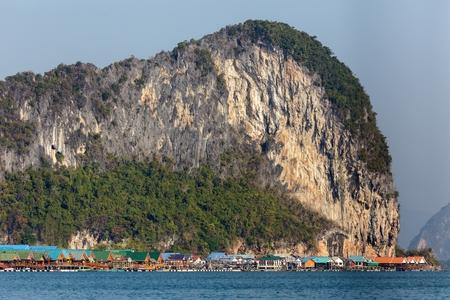 pang: The Koh Panyi muslim fishing village in the Phang nga bay, Thailand
