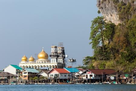 pang: The Koh Panyi Muslim fishing village in the Pang Nga bay, Thailand