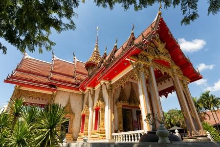 templo: El templo de Wat Chalong budista en Chalong, Phuket, Tailandia