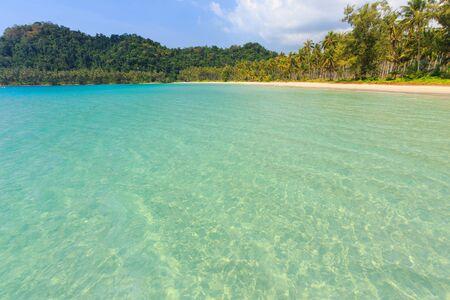 kood: Tropical sea shore of Ao Phrao beach in Ko Kood island, Thailand