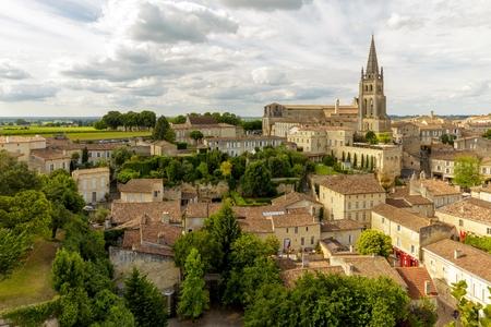 saint emilion: Saint Emilion French village, Unesco heritage, famous for its wine.