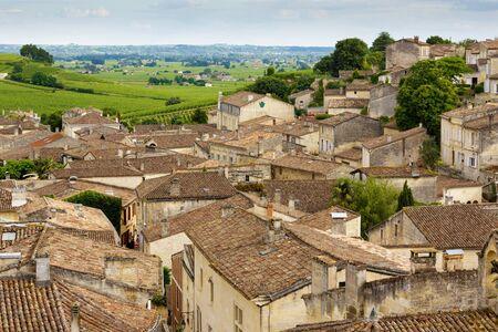 saint emilion: Saint Emilion French village   , famous for the red wine