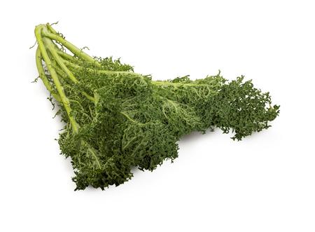 perishable: Organic Seaweed Kale isolated on white