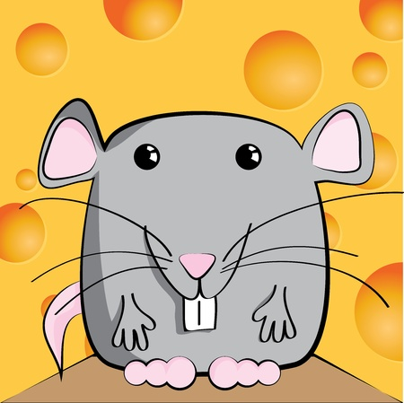 funny pictures: Cute mouse cartoon character
