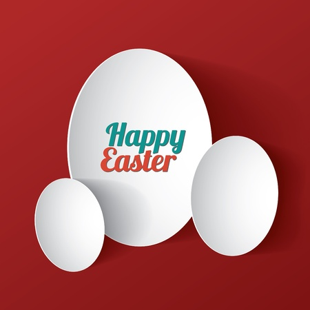 Happy easter card  Vector illustration Stock Vector - 18982022
