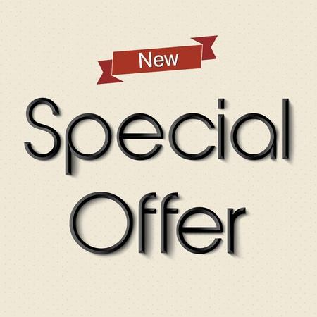 Special offer design element Stock Vector - 18982016