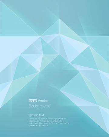 Abstract light blue background diamond style