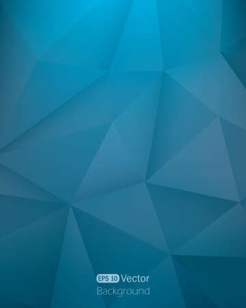 Abstract dark blue triangle background