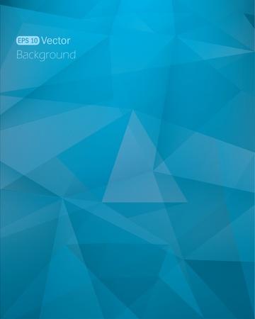 Abstract dark blue background Vector illustration Vector