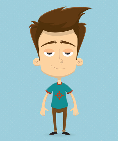 Character design. Vector illustration