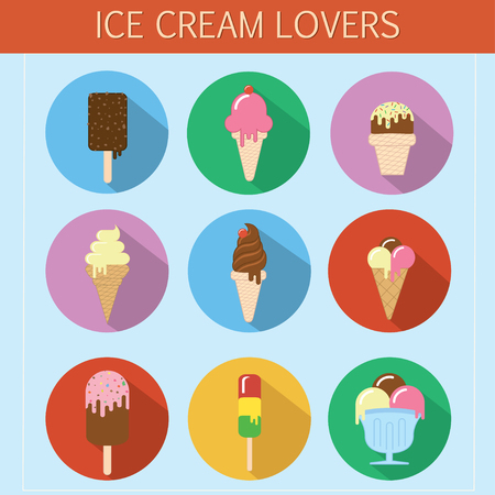 ice cream scoop: Steampunk icons for digital marketing