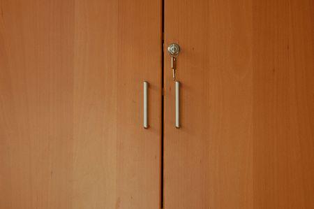 Door handles of closet Stock Photo - 4984914