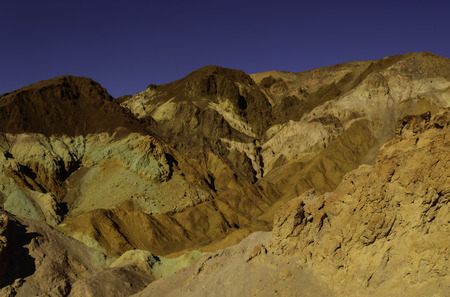Striking view of Artists Palette in Death Valley National Park photo