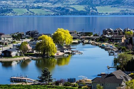 lakefront: Green Bay Lakefront Subdivision on Okanagan Lake West Kelowna British Columbia Canada