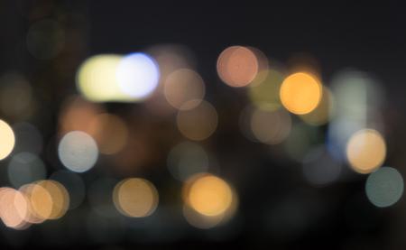 blurring: blurring light from building