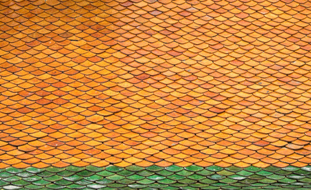 rooftile: the roof-tile of temple
