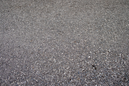 background of road surfaces are made from asphalt and gravel Stock Photo
