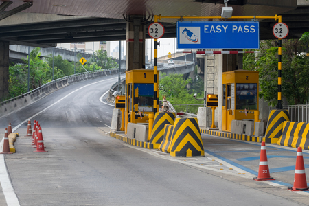 Bill through the checkpoint for cars that need an expressway
