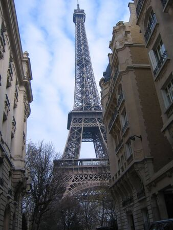 Tour Eiffel among Buildings