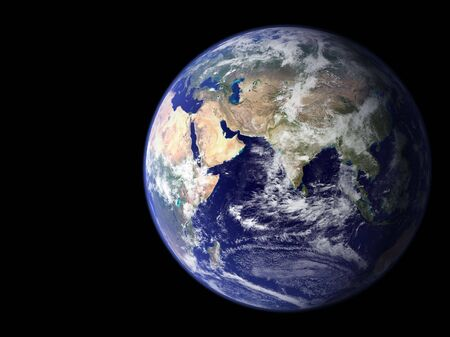 Earth from outer space - Africa & Asia