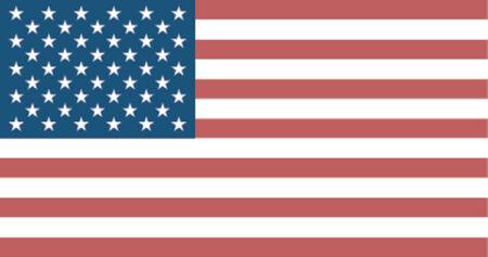 флагшток: Stars & Strips - United States of America Flag Иллюстрация