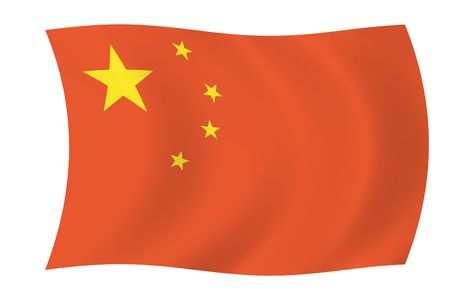 China - Simple Chinese Flag photo