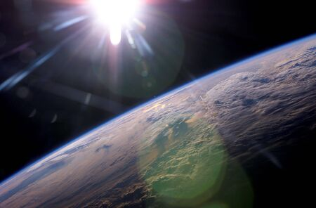 Earth & Sunlight Stock Photo - 801765
