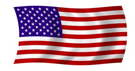 The Stars And Stripes - Simple Floating USA Flag