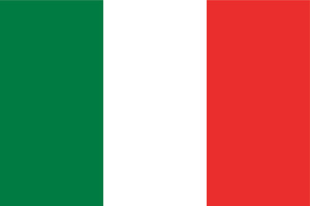 Italy - Italian Flag - Simple Flag - Vector
