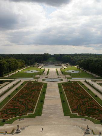 Garden à la Française - Chateau of Vaux le Vicomte - France