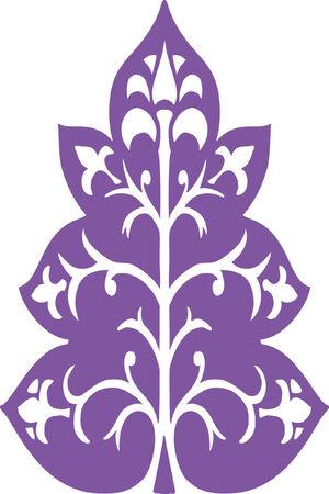 albero stilizzato: Albero stilizzato - priorit� bassa artistica