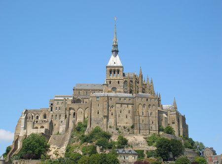mont saint michel: Mont Saint Michel - France