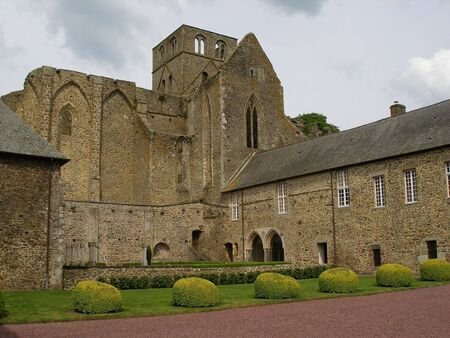 abbeys: Hambye Abbeys - Abbaye de Hambye - Normandy, France