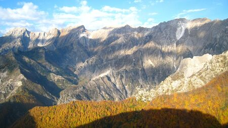Apuane Alps National Park - Italy Stock Photo