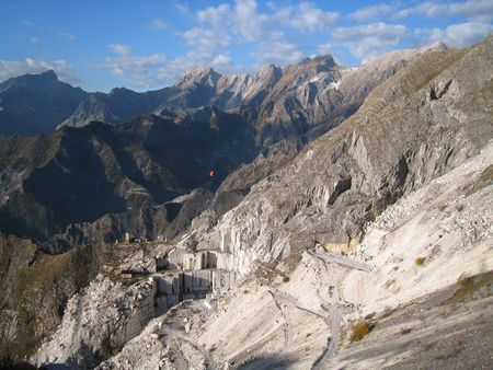 The Marble Quarries - Apuan Alps - Carrara, Italy