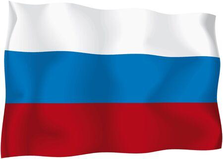 Russia - Russian flag Stock Photo