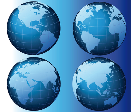 World - Global Set Series Stock Vector - 6678379