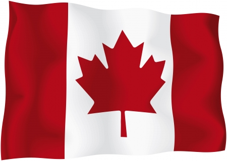 canadian flag: Canada - Canadian flag