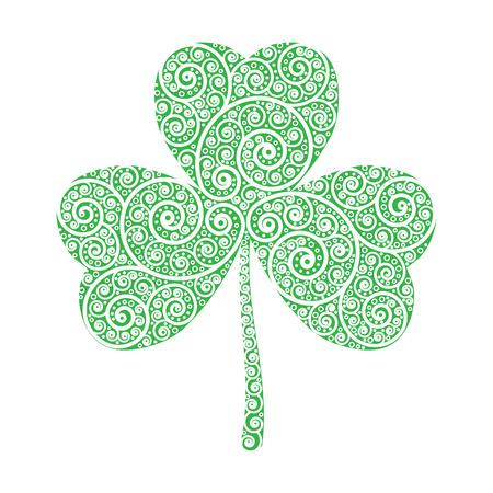march 17: 17 March Saint Patricks Day and Trinity Green Shamrock