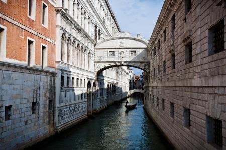 The Bridge of Sighs ,Venice, Italy 版權商用圖片