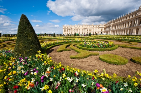 Garden of Palace of Versailles (Ch‰teau de Versailles) in Paris, France