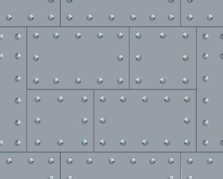 Vector illustration of a grey metalic pattern