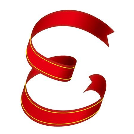 flap: ribbon Alphabet