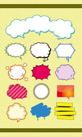 callout: Balloon material Illustration